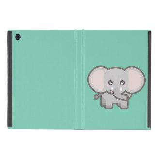 Kawaii elephant iPad mini case