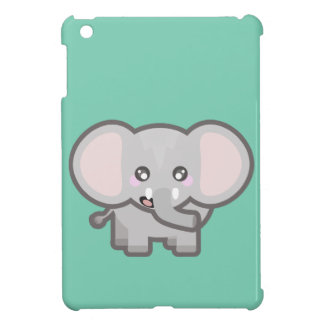 Kawaii elephant iPad mini cases