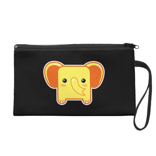 Kawaii elephant wristlet purses