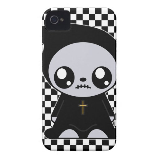 Kawaii Emo iPhone 4 Case-Mate Carcasas