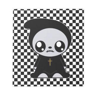 Kawaii Emo Memo Note Pad
