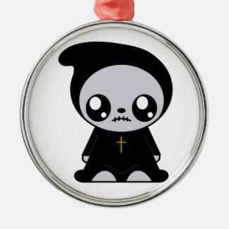 Kawaii Emo Metal Ornament