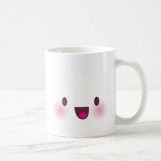 Kawaii face coffee mug
