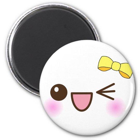 Kawaii face! magnet