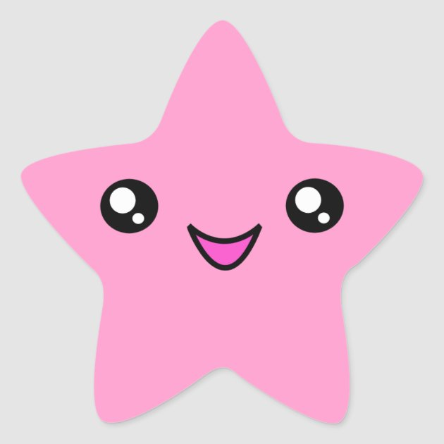 kawaii face pink star sticker zazzle free bridal shower clipart for invitations free bridal shower clipart for invitations