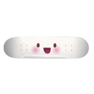 Kawaii face skate boards