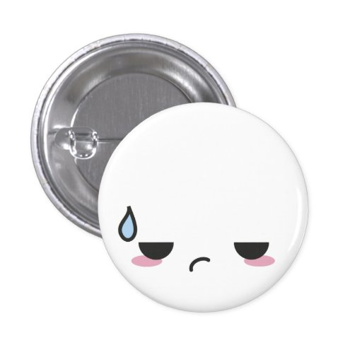 Kawaii Faces 1 Inch Round Button