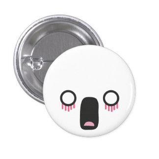 Kawaii Faces Pinback Button