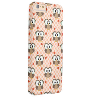 Kawaii Fall Owl Barely There iPhone 6 Plus Case