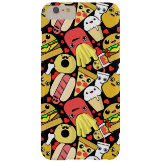 Kawaii Fast Food Pattern Barely There iPhone 6 Plus Case