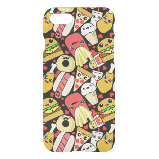 Kawaii Fast Food Pattern iPhone 7 Case
