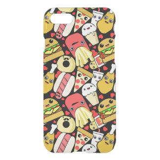 Kawaii Fast Food Pattern iPhone 7 Case