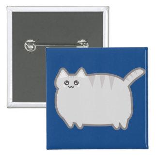 Kawaii Fat Cat Button