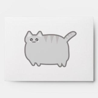 Kawaii Fat Cat Envelope