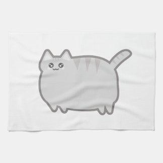 Kawaii Fat Cat Kitchen Towels