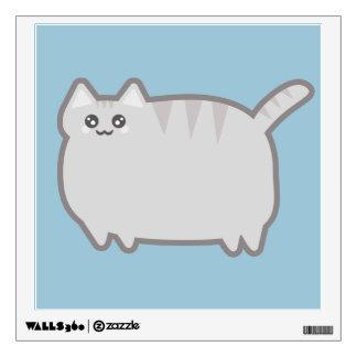 Kawaii Fat Cat Wall Sticker