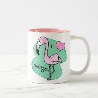 Kawaii Flamingo Mug