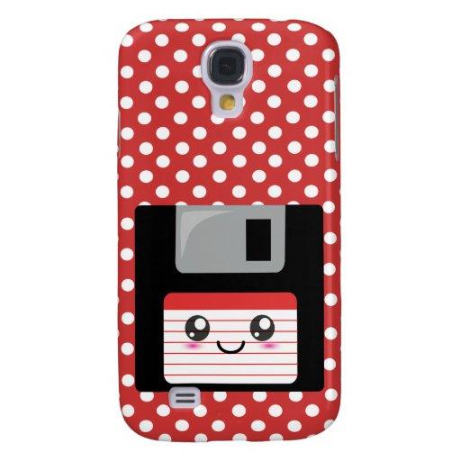 Kawaii Floppy Disk Galaxy S4 Case