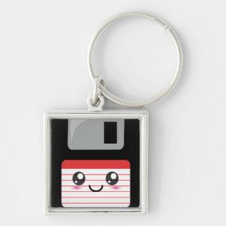 Kawaii Floppy Disk Key Chains