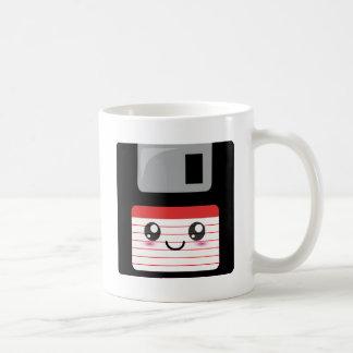 Kawaii Floppy Disk Classic White Coffee Mug