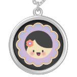 Kawaii flower girl necklaces