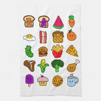 Kawaii Food Hand Towel