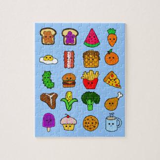 Kawaii Food Jigsaw Puzzle
