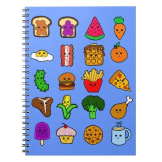 Kawaii Food Notebook