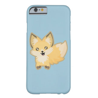 Kawaii Fox Barely There iPhone 6 Case