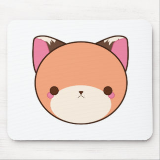 Kawaii Fox Mouse Pad