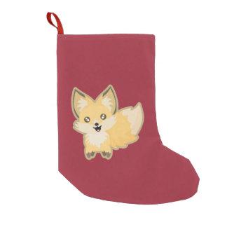 Kawaii Fox Small Christmas Stocking