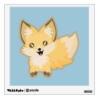 Kawaii Fox Wall Sticker