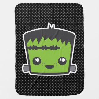Kawaii Frankenstein Baby Blanket