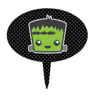 Kawaii Frankenstein Cake Topper