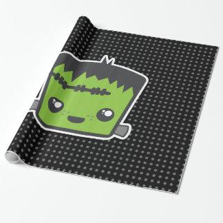 Kawaii Frankenstein Gift Wrap
