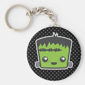 Kawaii Frankenstein Keychain