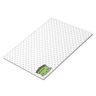 Kawaii Frankenstein Notepad