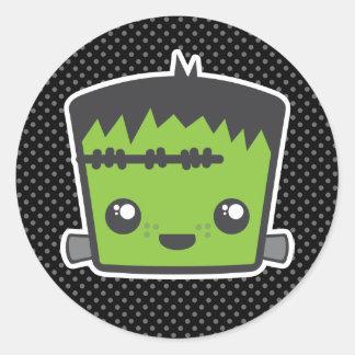 Kawaii Frankenstein Stickers