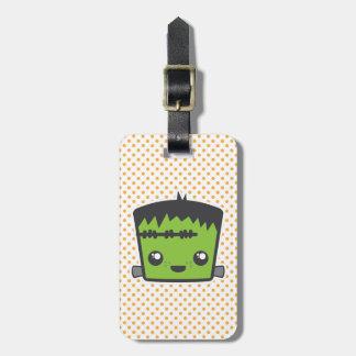 Kawaii Frankenstein Travel Luggage Tags