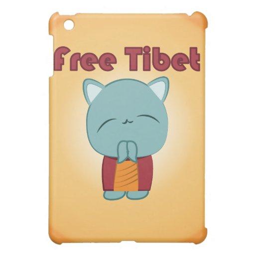 Kawaii Free Tibet Kitty iPad case