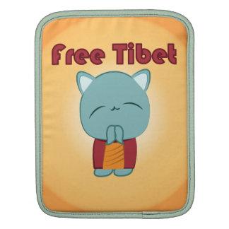 Kawaii Free Tibet Kitty iPad sleeve