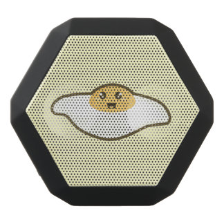 Kawaii Fried egg Black Bluetooth Speaker