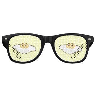 Kawaii Fried egg Retro Sunglasses