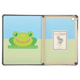 Kawaii frog case for iPad air