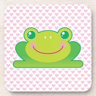 Kawaii frog coaster