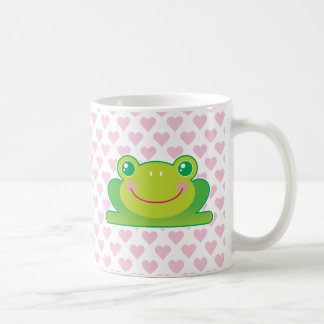 Kawaii frog coffee mug