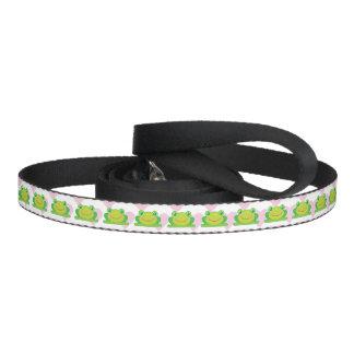 Kawaii frog dog leash