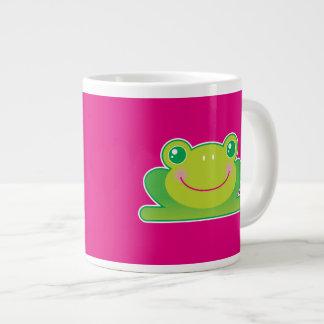 Kawaii frog giant coffee mug