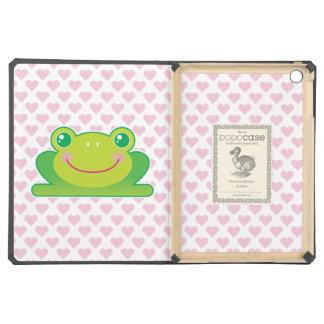 Kawaii frog iPad air covers