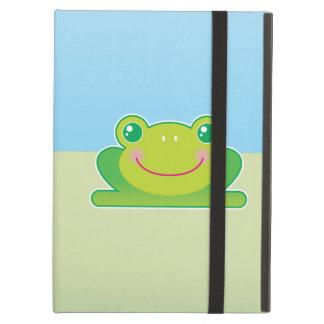 Kawaii frog iPad covers